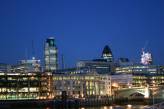 London city skyline Stock Photography