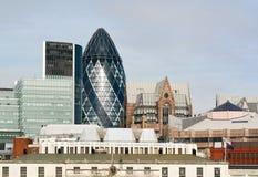 London City skyline. London City architecture skyline. Modern buildings.  England Royalty Free Stock Images