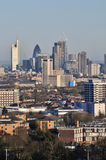 London city skyline early evening Royalty Free Stock Photo