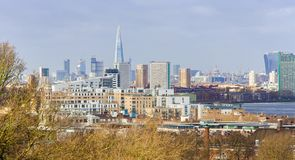 London city skyline. In United Kingdom royalty free stock photos