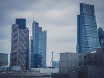 London City skyline Stock Images