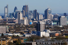 London city skyline from the north Stock Image