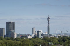 London city skyline Royalty Free Stock Photography