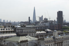 London city skyline Royalty Free Stock Image