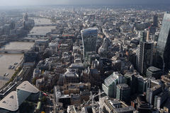 London city skyline view from above Royalty Free Stock Photos
