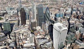 London city skyline view from above Stock Photo