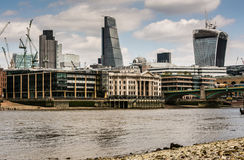 London city skyline Stock Image