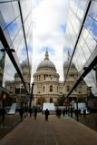 London City St. Pauls Cathedral Stock Photos