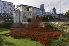 London city, St. Thomas Tower Royalty Free Stock Image