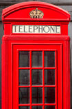 London City Telephone Box Stock Photography