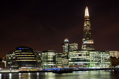 London city, UK England. London cityscape around Southwark, on the south bank of the River Thames near Tower Bridge royalty free stock photos