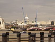 London city view over river thames Stock Photo