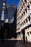 London City view at Rood Line to Leadenhall Building stock photography
