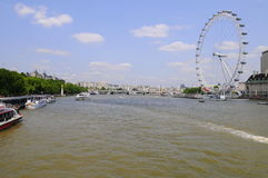 London city view. Royalty Free Stock Photo