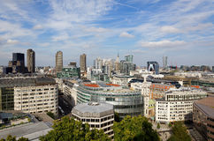 London city view from the top of St. Paul Cathedral Stock Photo