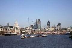 London Cityscape Royalty Free Stock Image