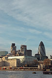 London cityscape. A view of the skyline of london Stock Photos