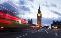 London cityscape at Big Ben, night scene photo Royalty Free Stock Image
