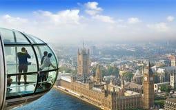 London Cityscape from London Eye Stock Photos
