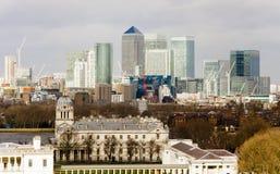 London cityscape i UK royaltyfri foto