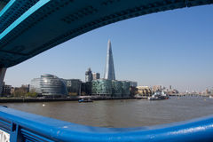 London cityscape and The Shard Stock Images