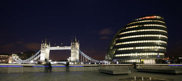 London Cityscape, Tower Hemlets Royalty Free Stock Photography