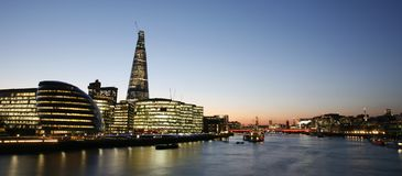 London Cityscape, Tower Hemlets Stock Photo
