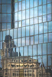 London commercial building reflection Royalty Free Stock Photo