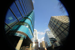 London commercial district Royalty Free Stock Image