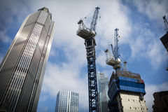 London construction Royalty Free Stock Image