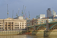 London construction Stock Photography