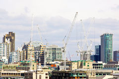 London construction site Royalty Free Stock Photography
