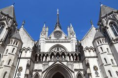 London Court House Royalty Free Stock Images