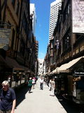 London Court Perth Western Australia shopping Stock Image