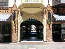 London Court Shopping Lane Perth Western Australia Stock Images