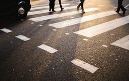 London Crosswalk Stock Image