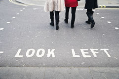 London crosswalk Royalty Free Stock Images