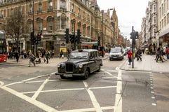 London crowded Street Royalty Free Stock Photo