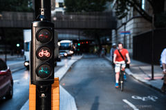 London Cycle highway Royalty Free Stock Photos