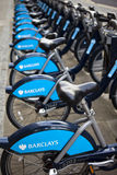 London Cycle Hire Royalty Free Stock Photography