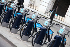 London cycle hire Royalty Free Stock Image