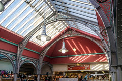 LONDON - DEC 9 : Architecture of the Market Hall at Camden Lock Royalty Free Stock Photo