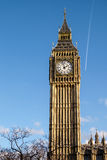 LONDON - DEC 9 : Close up view of Big Ben in London on Dec 9, 20 Stock Images