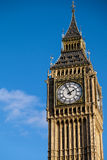 LONDON - DEC 9 : Close up view of Big Ben in London on Dec 9, 20 Royalty Free Stock Photography