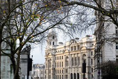 LONDON - DEC 20 : Old War Office Building in Horse Guards Avenue Royalty Free Stock Image