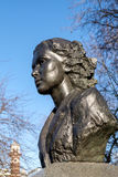 LONDON - DEC 9 : Statue of Violette Szabo in London on Dec 9, 20 Royalty Free Stock Photos