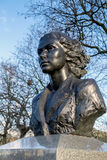 LONDON - DEC 9 : Statue of Violette Szabo in London on Dec 9, 20 Stock Photo