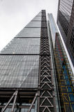 LONDON - DEC 20 : View of the Leadenhall Building affectionately. Known as the Cheesegrater in London on Dec 20, 2015 Royalty Free Stock Photography