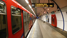London DLR, Docklands Light Railway. Stock Image