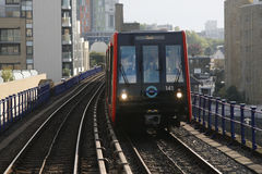 London DLR, Docklands Light Railway. Stock Images